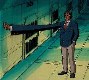 Marvel-Fantastic-Four-Prod-Cel-Background-1994-Animated-Series-R2-Reed-Richards