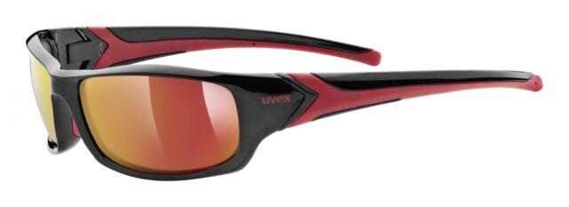 Uvex Sportstyle 211 Sportbrille Schwarz/Rot SZ3Sthi14M