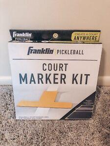 Brand New Franklin Pickleball Court Marker Kit