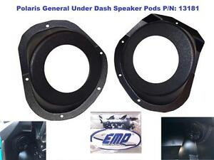Details about Polaris General Under-Dash Speaker Pods (Speakers Not  Included) P/N 13181 No Spe