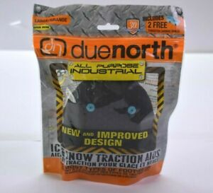 Due-North-All-Purpose-Ice-amp-Snow-Traction-Aid-Shoe-Strap-Attach-Large