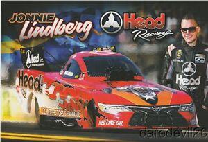 2017 Jonnie Lindberg Head Racing Toyota Camry Funny Car Nhra