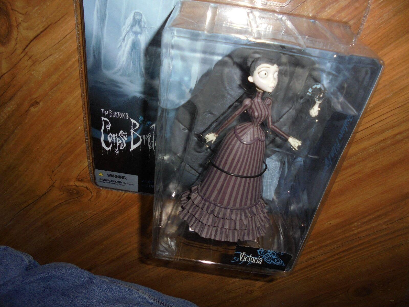Tim Burtons  Corpse Bride  Series 1  VICTORIA  Action Figure  McFarlane 2005