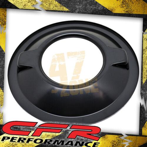 "Chevy Ford Mopar Steel 16/"" Dominator Air Cleaner Base Black"