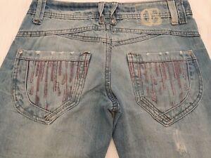 Republic Jeans taglia bootcut blu Womens 8 Un7pCWqSPP