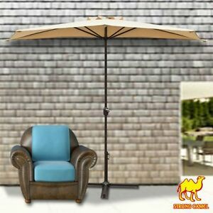 Exceptionnel 10 039 Half Patio Umbrella Wall Balcony Sun
