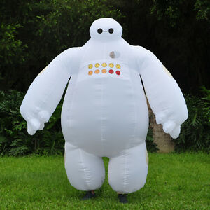 Adult-Big-Hero-6-Inflatable-Baymax-Mascot-Costume-Fancy-Dress-Cosplay-Outfit-NEW
