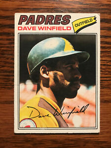 1977-Topps-390-Dave-Winfield-Baseball-Card-Raw-San-Diego-Padres