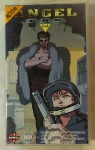 Angel-Cop-Episodes-3-amp-4-Volume-2-VHS-1989-Anime-OVA-1994-Manga-Entertainment