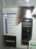 Sony Icdux81 2gb Digital Voice Recorder: Icd-ux81