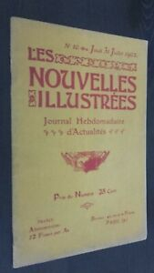 Revista Las Nuevos Ilustrado Journal Semanal N º 10 Julio 1902 Buen Estado