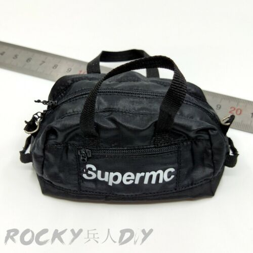 "SUPERMCToys F-079 1//6th black Travel bag For 12/"" Male Strong Body Action"