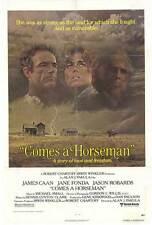 COMES A HORSEMAN Movie POSTER 27x40 James Caan Jane Fonda Jason Robards Jr.