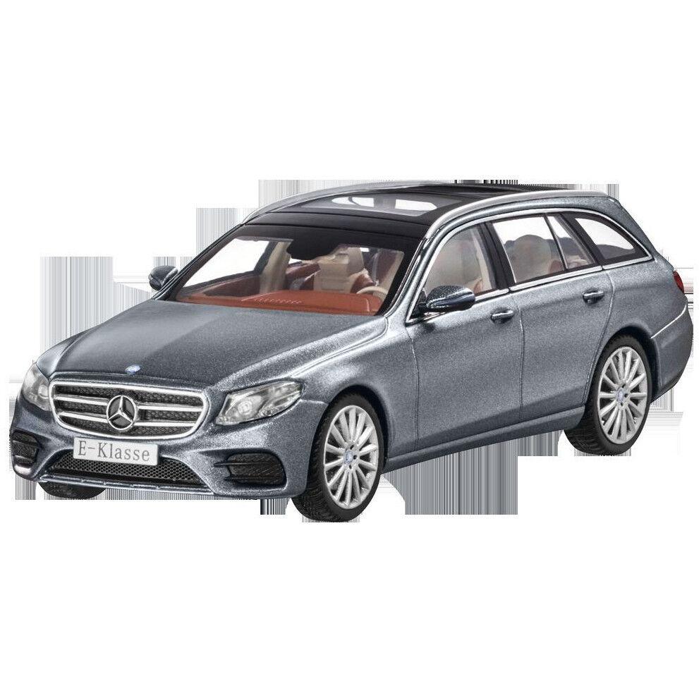 Mercedes Benz S 213 E Klasse T Modell AMG Line Selenitgrau 1 43 Neu OVP  | Ausgewählte Materialien