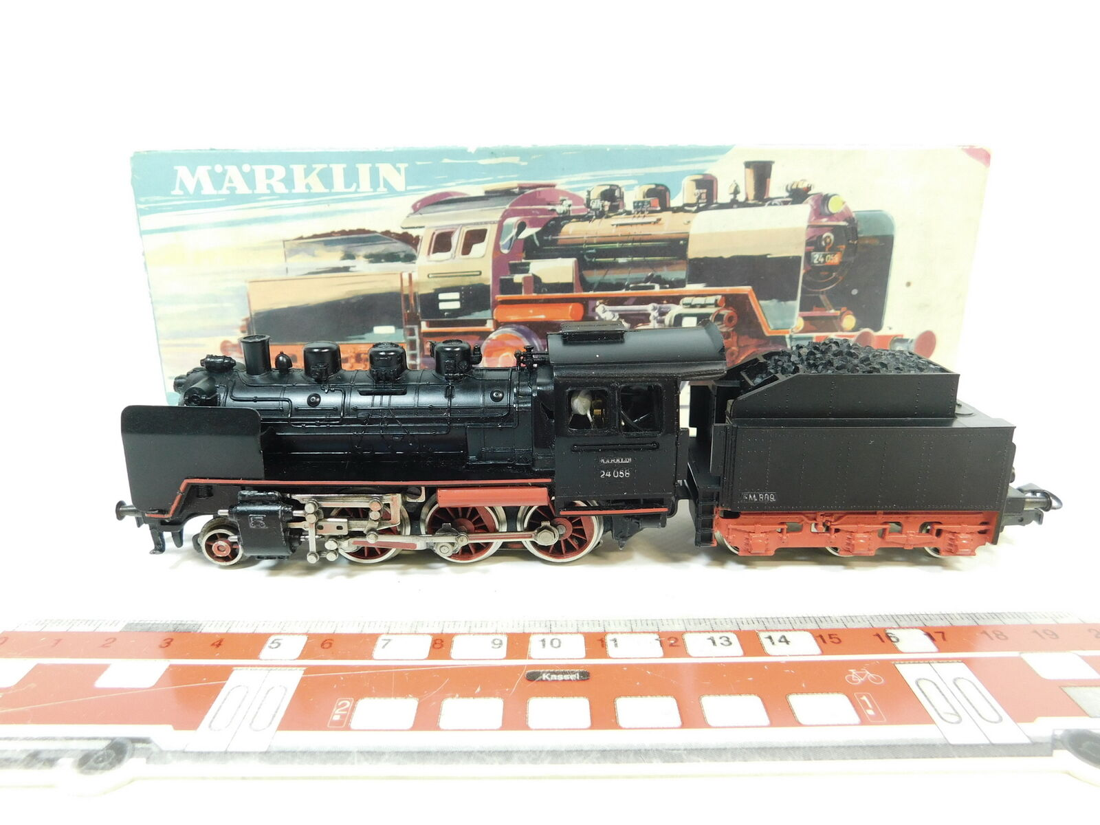 Bc740-1Märklin h0 ac 3003 Steam Locomotive Steam Locomotive 24 058 fm 809 DB, OVP
