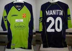 messina shirt maglia manitta nr 20 taglia XL 2007-08 legea verde