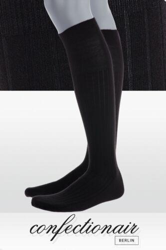 Confectionair B52 Herren-Kniestrümpfe PREMIUM Luxus Cashmere Seide Gentleman