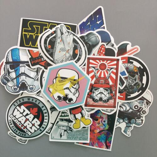 50X Star Wars Darth Vader Sticker Decals for Skateboard Luggage Computer Cases