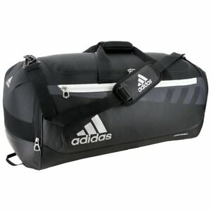 0add4334f2 Image is loading Adidas-Team-Issue-Duffel-Bag-Black-Small-Medium-
