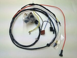 details about 1969 chevelle el camino engine starter wiring harness gauges 307 327 350 ss 1965 Chevelle Wiring
