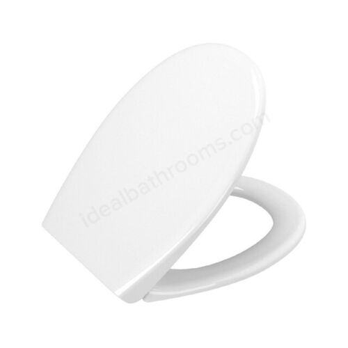 Vitra Layton Toilet Seat and Cover Soft Close White 84-003-019