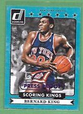 2014-15 Donruss BERNARD KING Scoring Kings Press Proof Purple /199 KNICKS