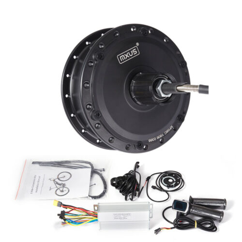 MXUS front rear Brushless gear motor 36V 250W 48V 350W 500W ebike Conversion Kit