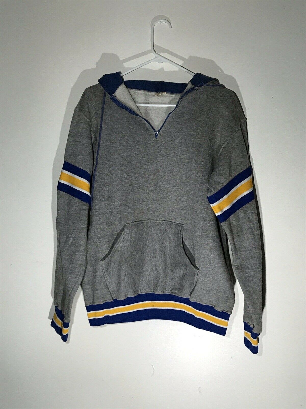Vintage 70s Russell Athletic Hoodie Sweatshirt Si… - image 1