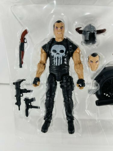 Marvel Legends The Punisher with Motorcycle Bike 6 Inch Action Figure New Target
