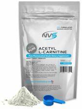 NVS PURE 100% PURE ACETYL L-CARNITINE (ALCAR) POWDER NONGMO USP GRADE USA