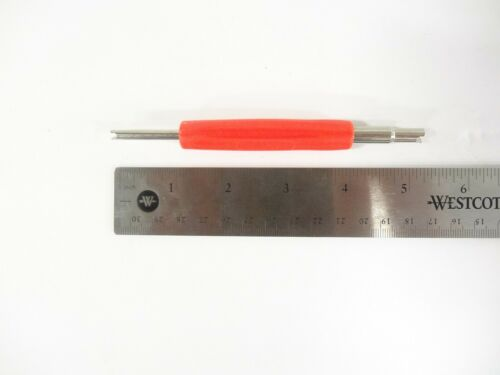 Tire Tube Valve Core Tool Remover for both Standard Tires /& Large Bore OTR cores