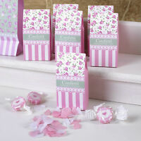 WEDDING CONFETTI Throwing Biodegradable VINTAGE FRILLS SPILLS Pink White Hearts