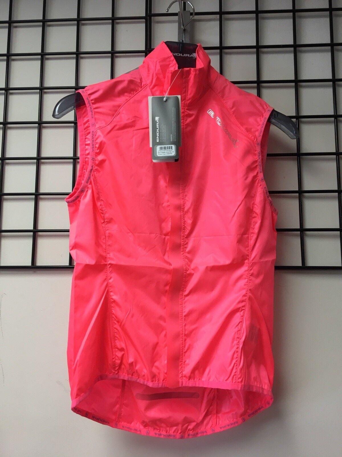 Endura Womans Cycling Vest Pink