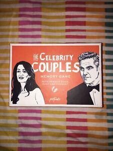 Brillant Printworks Celebrity Couples Jeu De Mémoire Neuf-afficher Le Titre D'origine Longue DuréE De Vie
