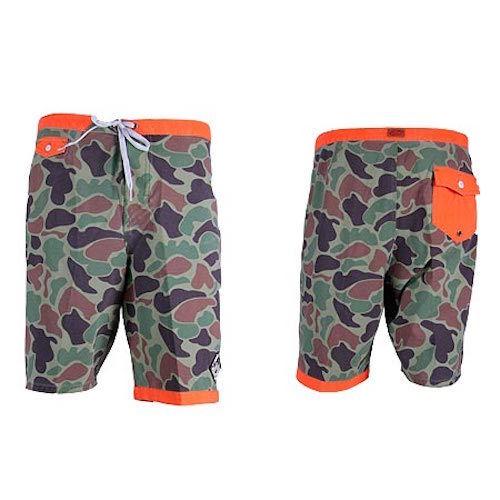 Vans Men's JT Joel Tudor Trimline Rare Camo Board Shorts Size 30