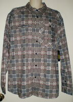 Marc Ecko Cut N Sew Deadly Threads Mens Shirt Xl Button Front Collar $69
