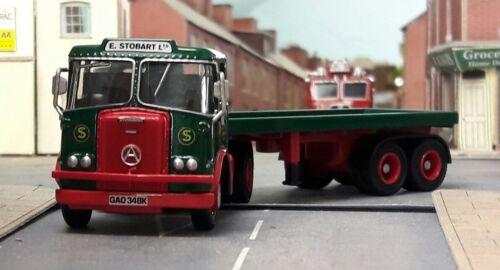 1971 Stobart Seddon Atkinson Borderer Artic Lorry /& Trailer Hornby 1:76 00 OO