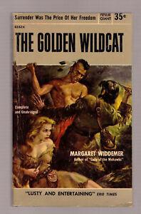 The-Golden-Wildcat-Margaret-Widdemer-1954-Popular-Giant-GGA-sleaze-EX-cond