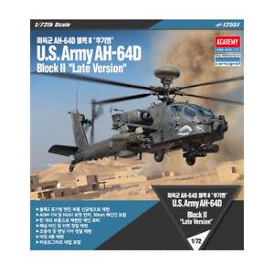 ACADEMY-12551-1-72-Plastic-Model-Kit-U-S-Army-AH-64D-Block-II-Late-version