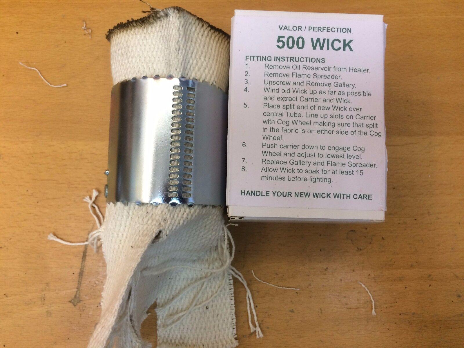 Emballé Valor Perfection Courses 500 Radiateur Wick avec Métal Sac de Courses Perfection 525 555 6bfd42