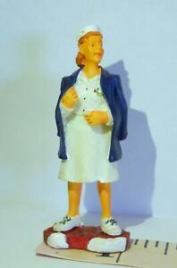 Lemax Nurse in White Cap Uniform vintage 2000 Figurine