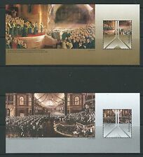 AUSTRALIA 2001 CENTENARY OF FEDERAL PARLIAMENT PAINTINGS MINIATURE SHEETS UM,MNH