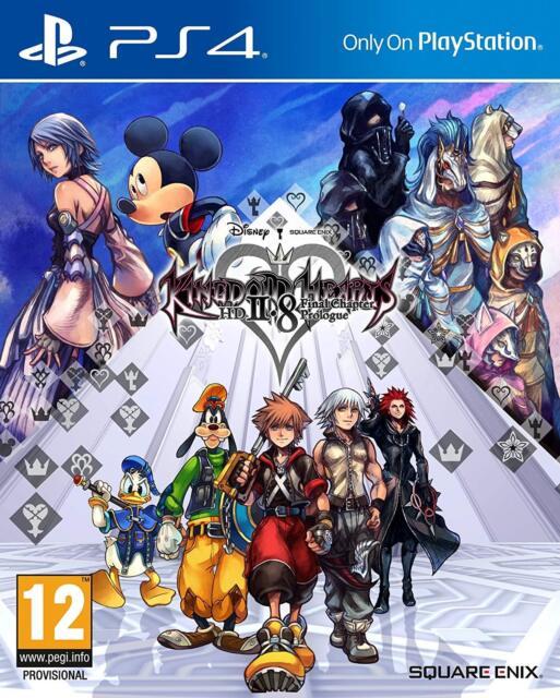 Kingdom Corazones PS4 HD 2.8 Final Chapter Prologue PS5 Juego - Nuevo y Sellado