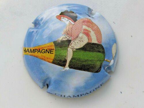 Série de  3  capsules  de Champagne  Générique LES ANNEES FOLLES