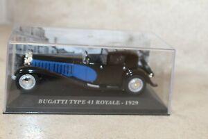 Bugatti-type-41-royale-1929-1-43-IXO-ALTAYA-sous-boite-034-vitrine-034
