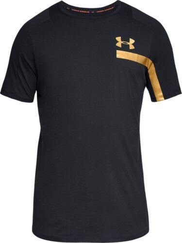 Under Armour Mens UA Perpetual Graphic Short Sleeve Black 1306380