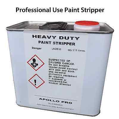 Paint Stripper 2.5 litres Restorations Car Bodywork Metal Remover Wood Furniture