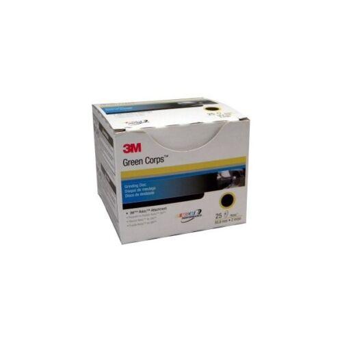 3-M 01397 Green Corps™ 36 Grit Roloc Disc 2 inch 25 discs per box