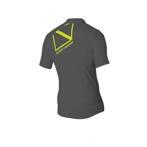 Magic Marine Herren Funktionsshirt Cube Rashvest S//S schnelltrocknend UV-Schutz
