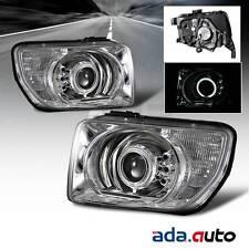 2003-2008 Honda Element {CCFL Halo} Projector Chrome Headlights Pair